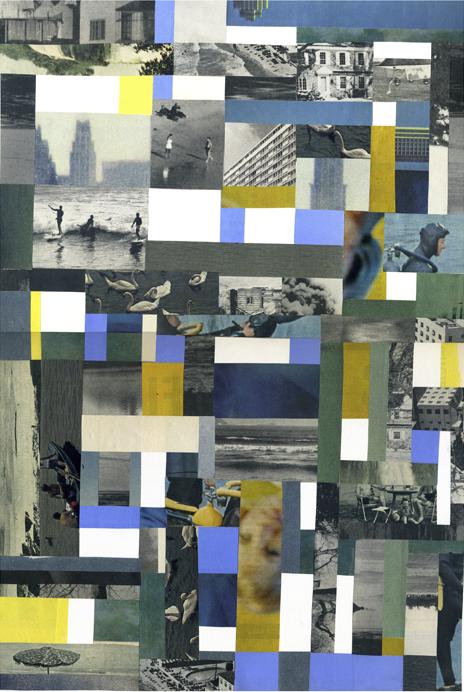 """Blanca Viñas, núm. 28, """"Collage d'un temps dispers""""."""