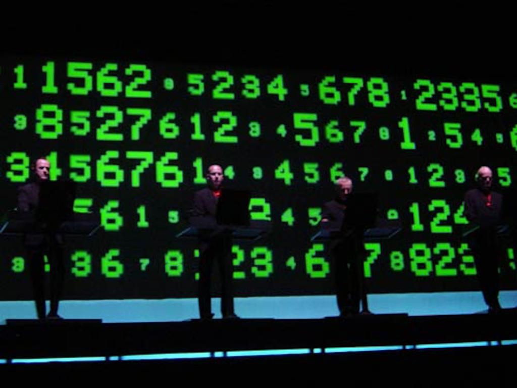 Kraftwerk · Numbers · Computervelt (Roma 2004)