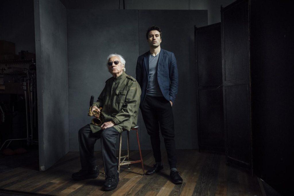 Lee Konitz (saxo) i Dan Dan Tepfer(piano), el darrer duo ©JOSH GOLEMAN.
