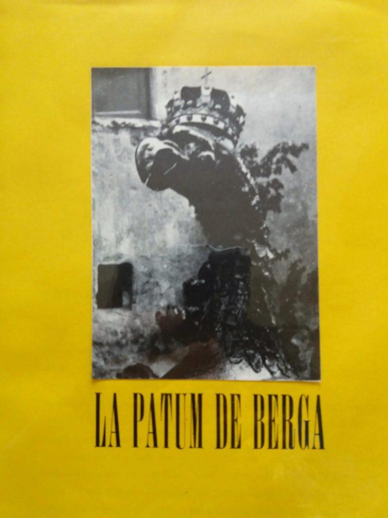 Coberta de la revista Dau al Set de l'estiu de 1951, dedicada a la festa popular de la Patum