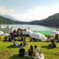 Un concert del Festival de Música dels Pirineus a un paradisíac indret d'Encamp. @FeMAP