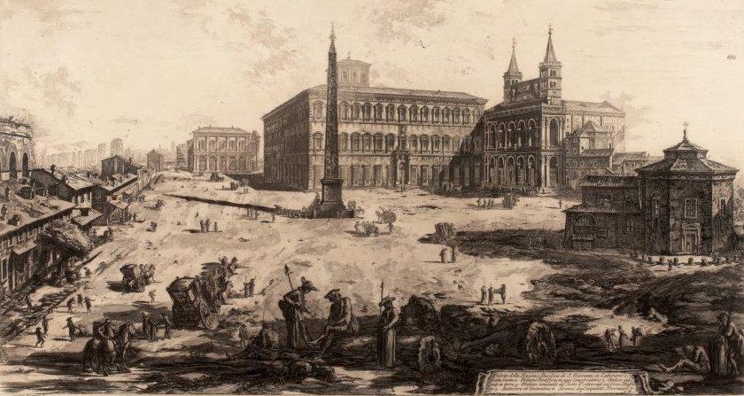 Vista di San Giovanni Laterano, Piranesi