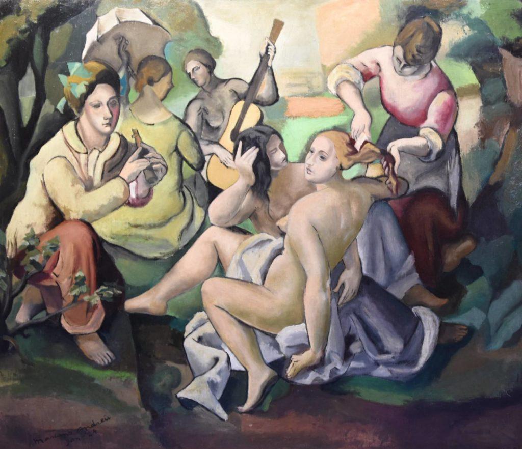 """Marià Andreu, """"Le déjeuner"""", 1924"""