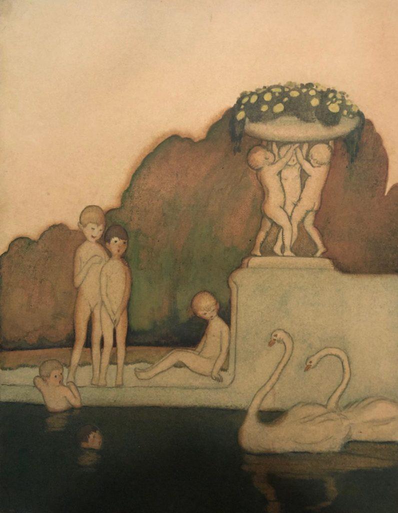 Pere Torné Esquius, « Nens a la font », 1916-1918