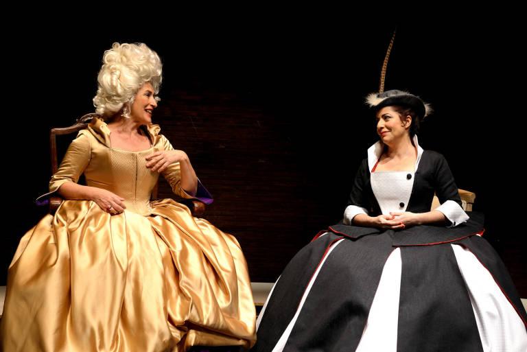 Producció de 2017 d''El verí del teatre', de Rodolf Sirera a càrrec del Teatre Micalet. Foto: Teatre Micalet