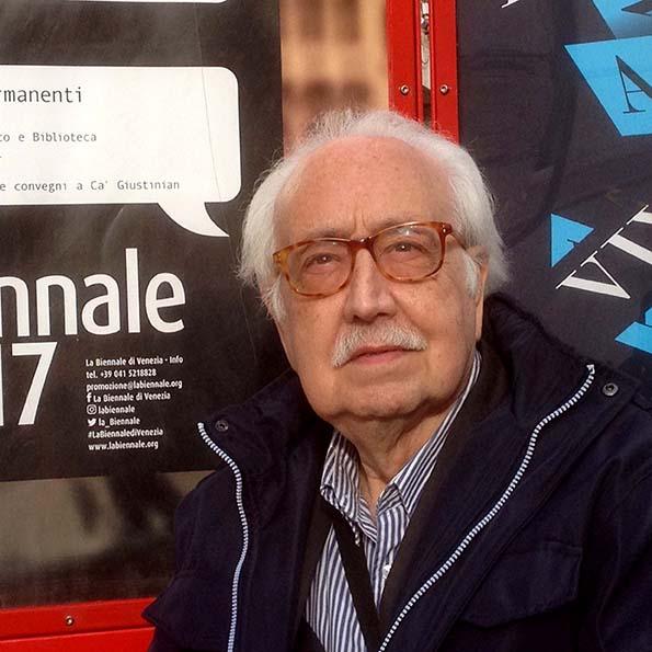 Joan Rabascall, a la Biennal de Venècia,  2017.