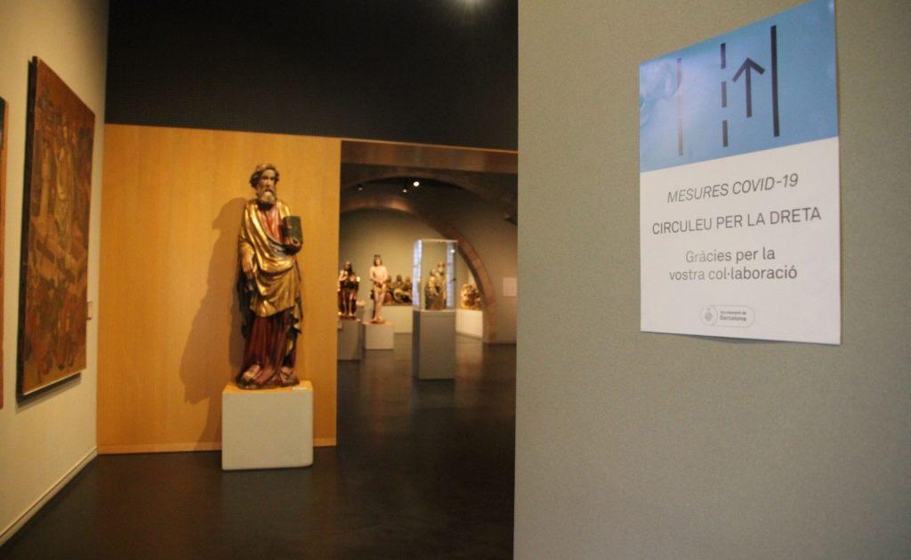Noves senyalística al Museu Marès. @MuseuFMares