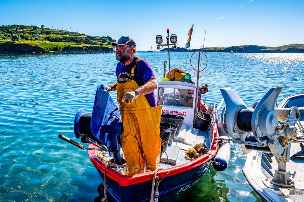 Iska, de la Confreria de Pescadors de Portlligat. Fotografia: Ignasi Piris.
