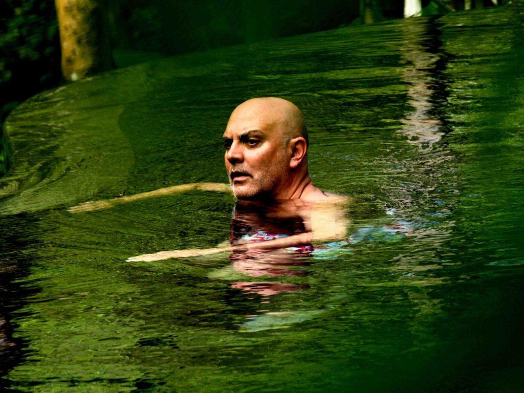 """Carlos Pazos, de """"Robados"""", 2008. Fotografia: Joanna Rosselló."""