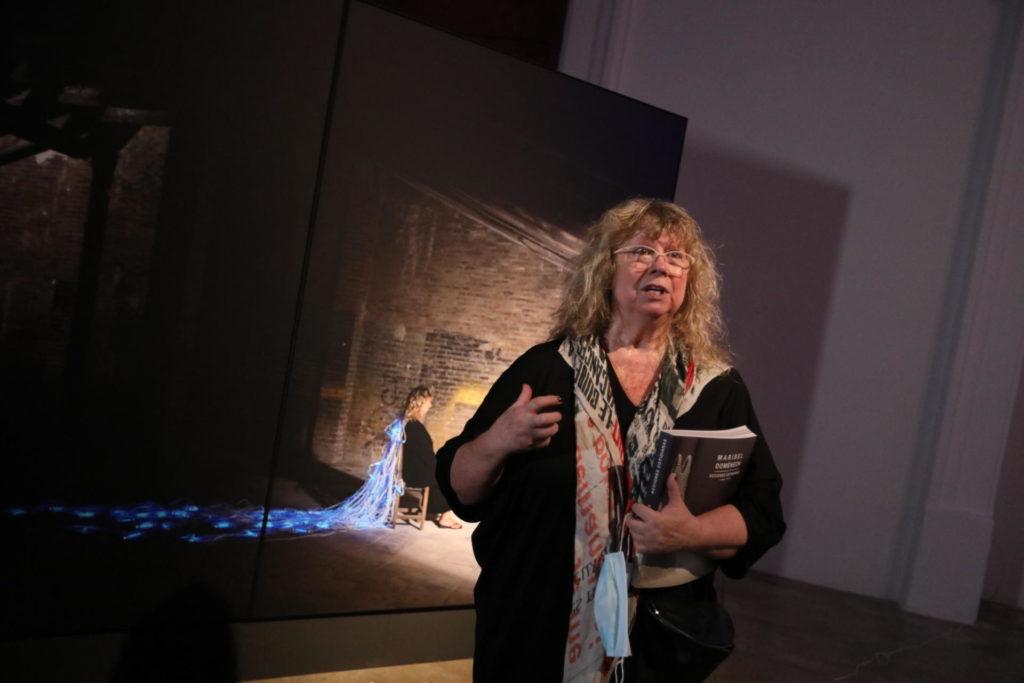 Maribel Domènech en un moment de la presentació   Foto CCCC