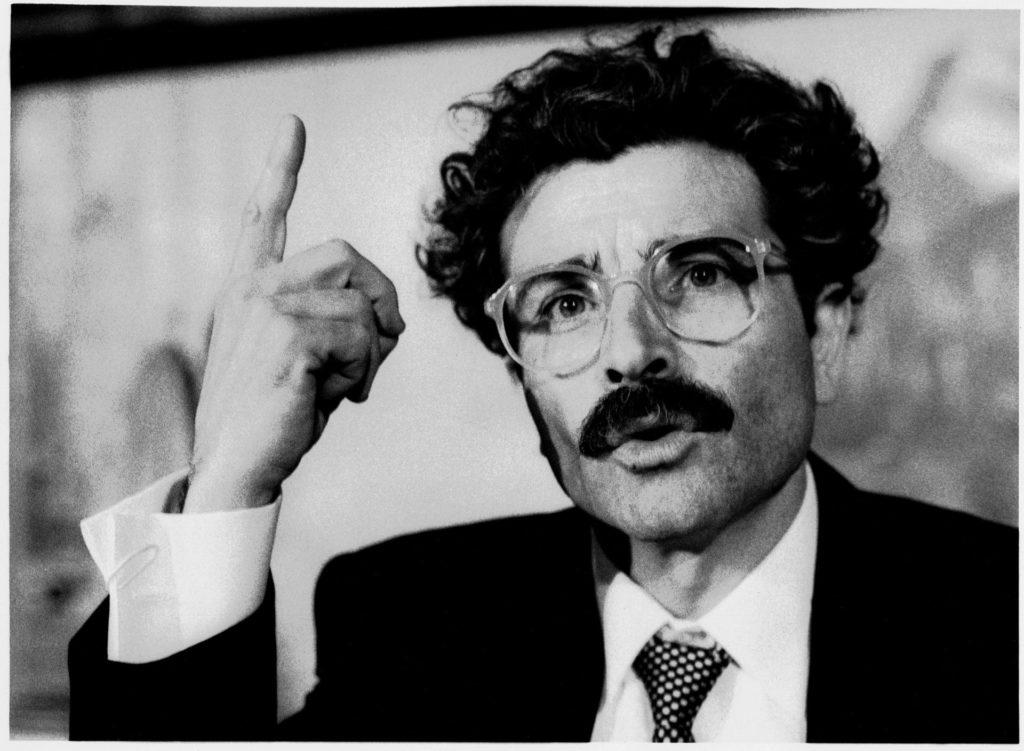Quim Lecina a El banquer anarquista de Fernando Pessoa (1989)