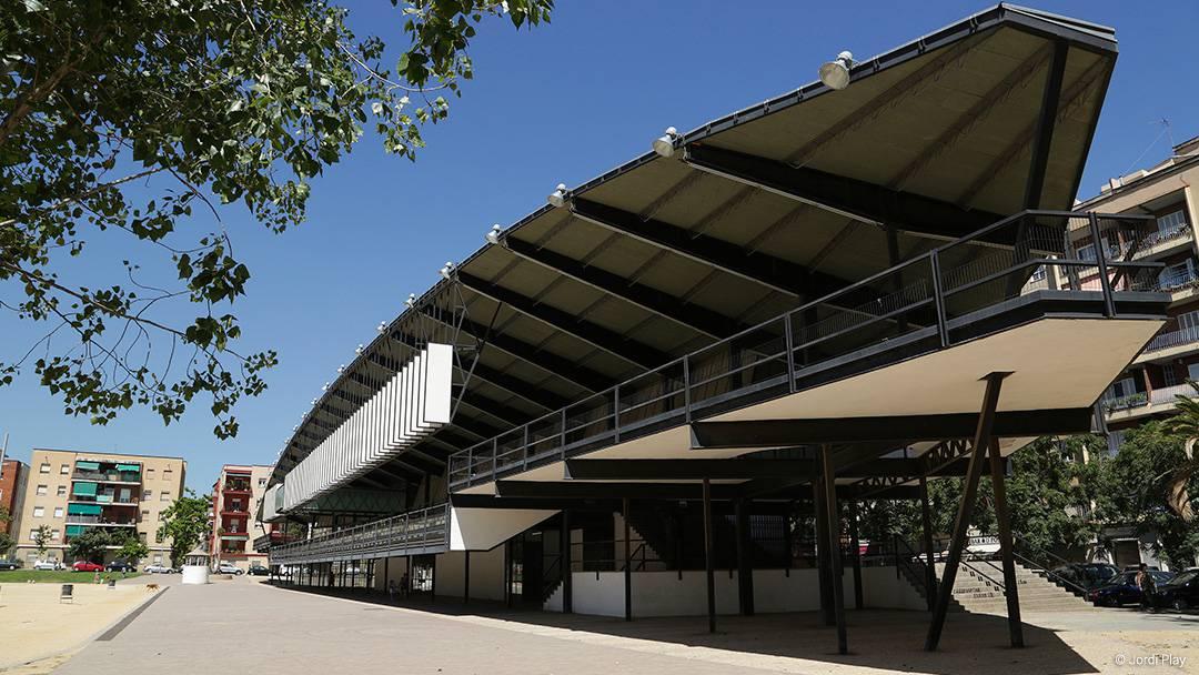 Canòdrom de la Meridiana, premi FAD 1963. Ajuntament de Barcelona