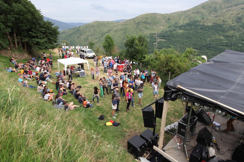 El singular ambient del festival Maldaltura. Foto: Maldaltura