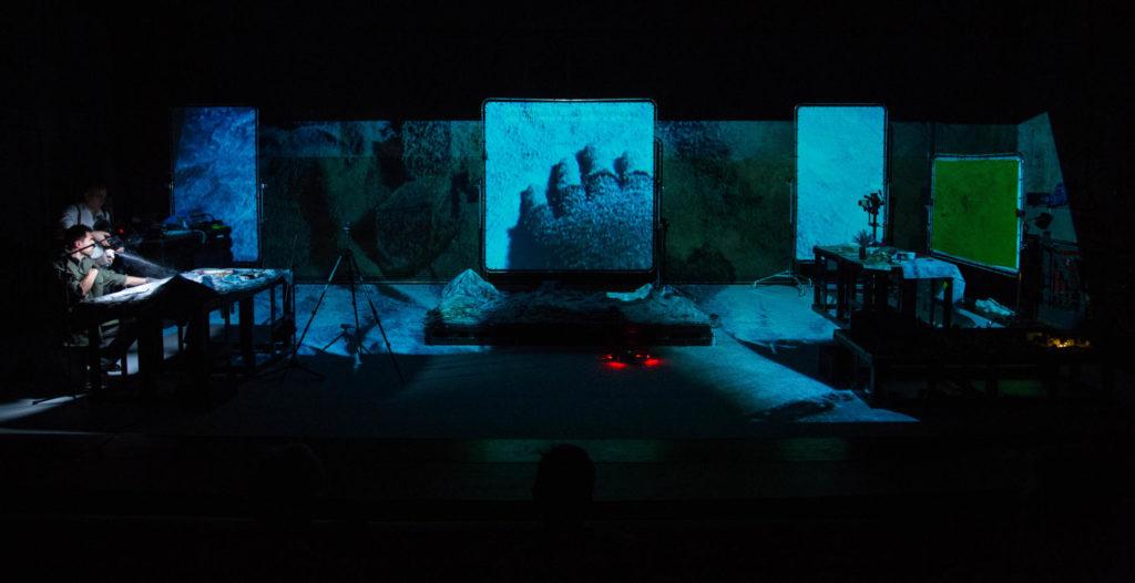 Agrupación Señor Serrano estrenaran 'The mountain' al Grec. Foto: Jordi Soler