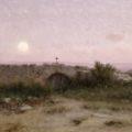 Modest Urgell: Paisatge. 1898.