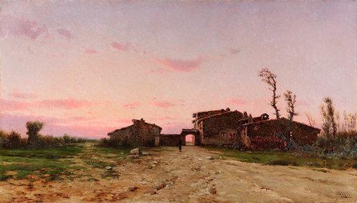 Modest Urgell: Paisatge. 1897-1901.