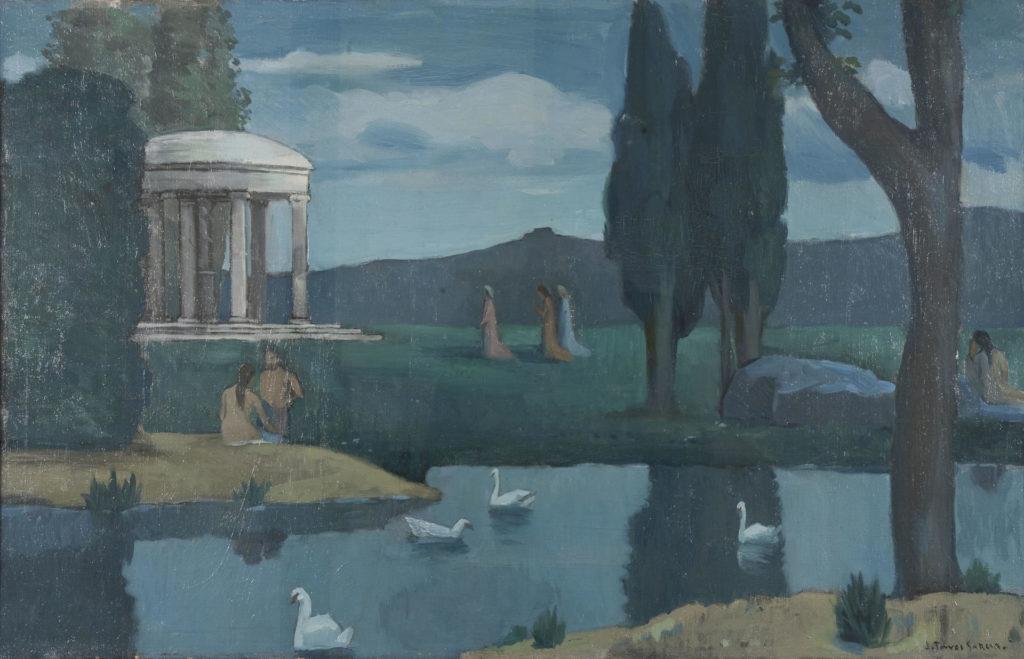 Joaquim Torres-García Títol: Temple a les nimfes, c.1901-1911. Museu Nacional d'Art de Catalunya © MNAC.