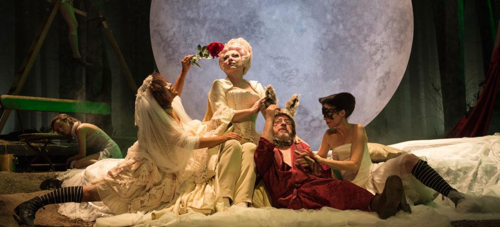 Joan Ollé va dirigir 'El somni d'una nit d'estiu' de Shakespeare al TNC durant la temporada 2014-2015. Foto: TNC