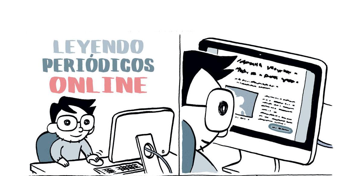"""Pàgina de 'Tal cual' de David Ramírez"""". > Imatge: Norma Editorial."""
