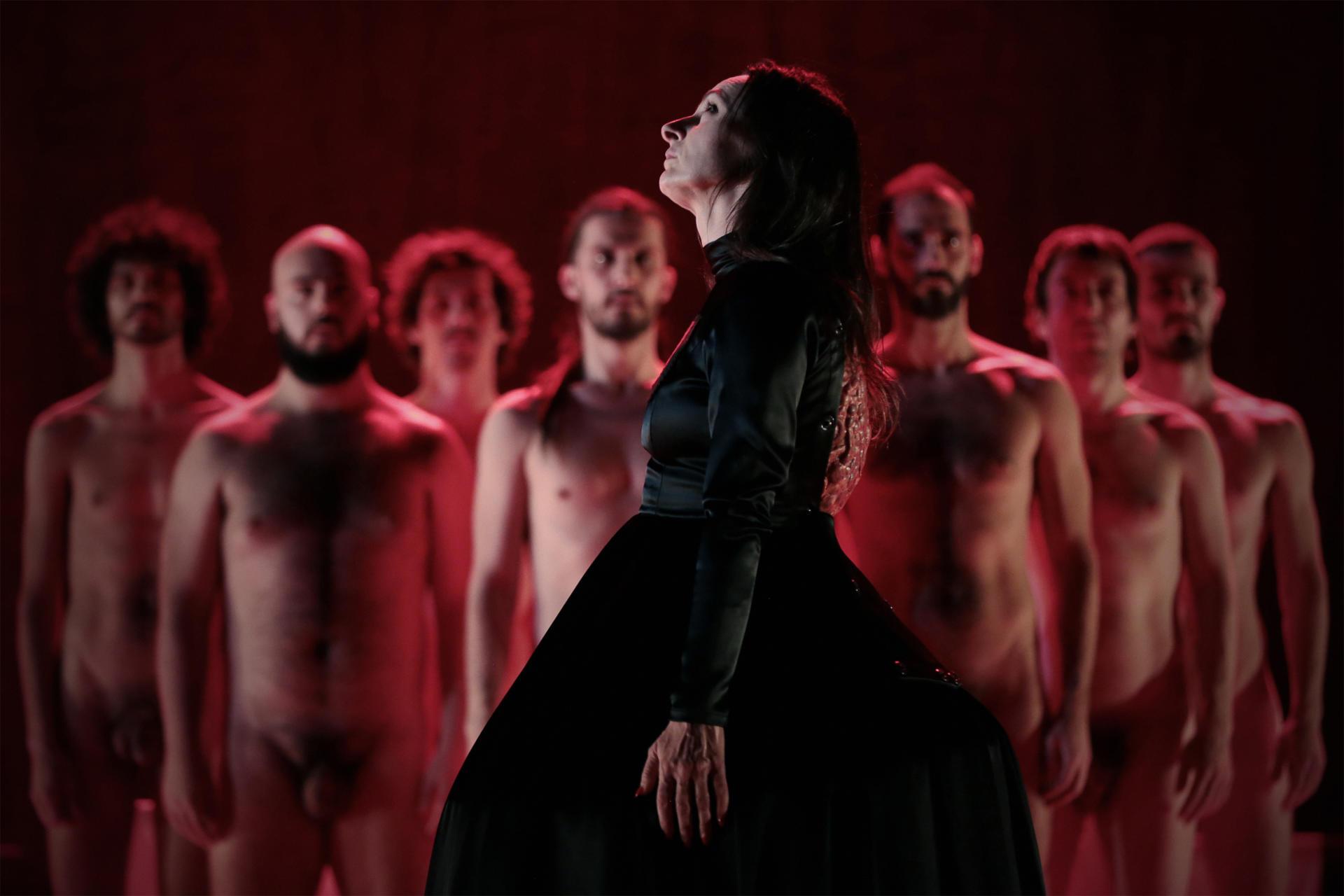 'The Scarlett Letter', d'Angélica Liddell. Foto: Bruno Simao