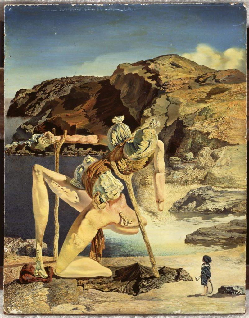 Salvador Dalí: L'espectre del sex-appeal, c. 1934. © Salvador Dalí, Fundació Gala-Salvador Dalí, VEGAP/Figueres 2020.