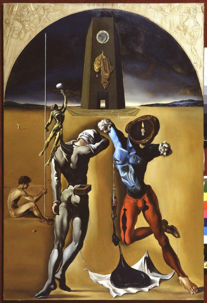 Salvador Dalí: Poesia d'Amèrica, 1943. © Salvador Dalí, Fundació Gala-Salvador Dalí, VEGAP/Figueres 2020.