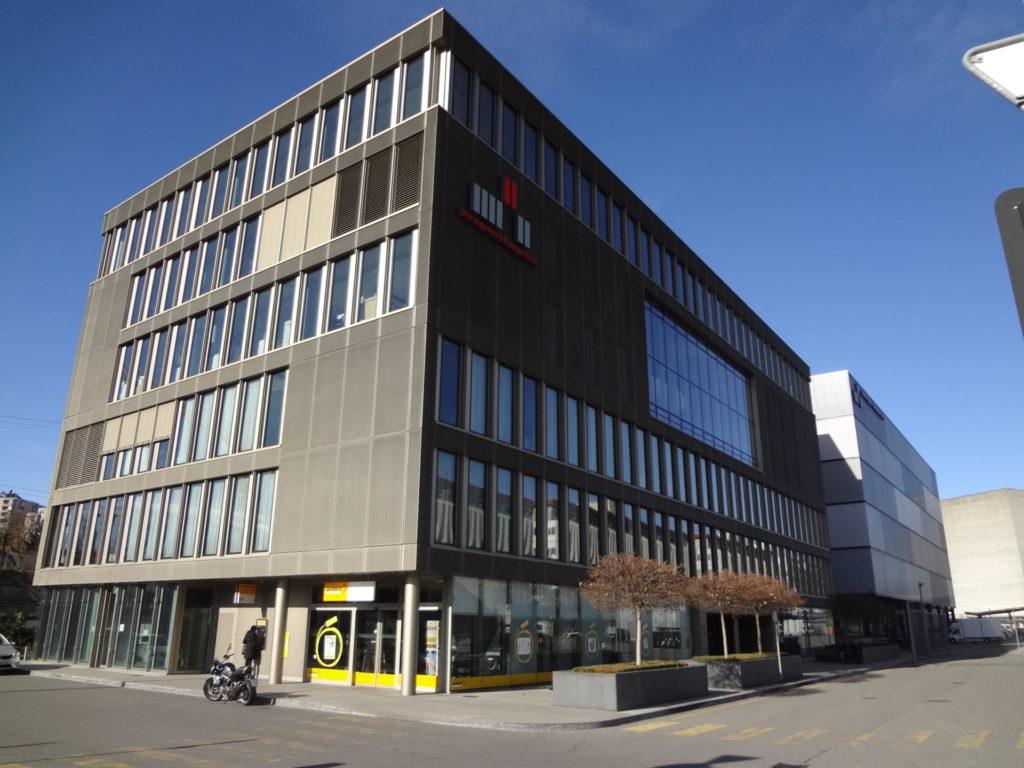 Vista del Port Franc de Ginebra. RTVE