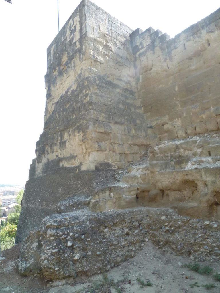 Restes del castell Formós de Balaguer. Wikicommons