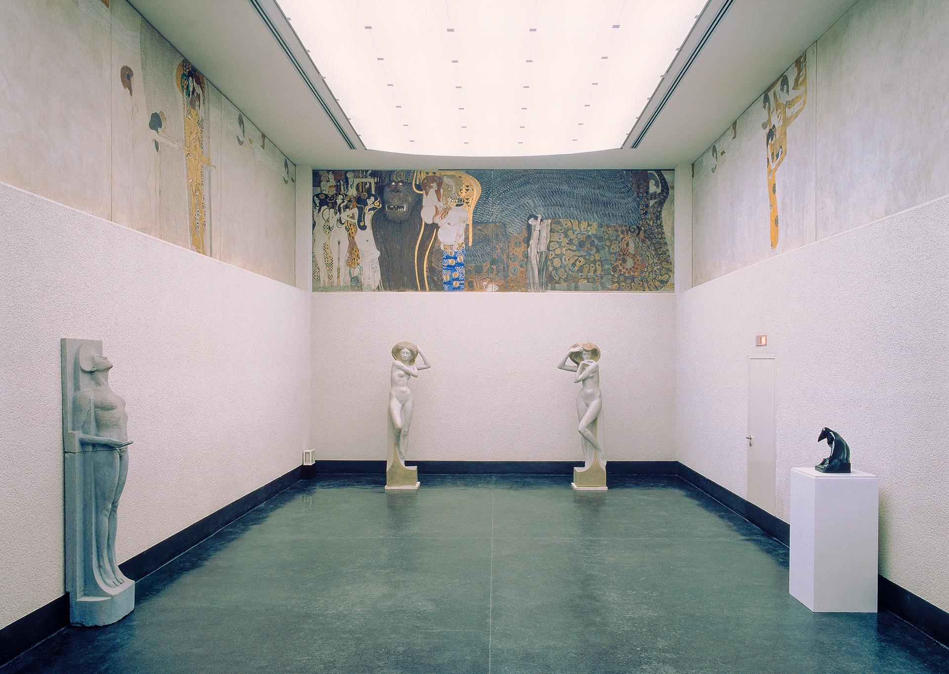 El fris de Beethoven de Gustav Klimt