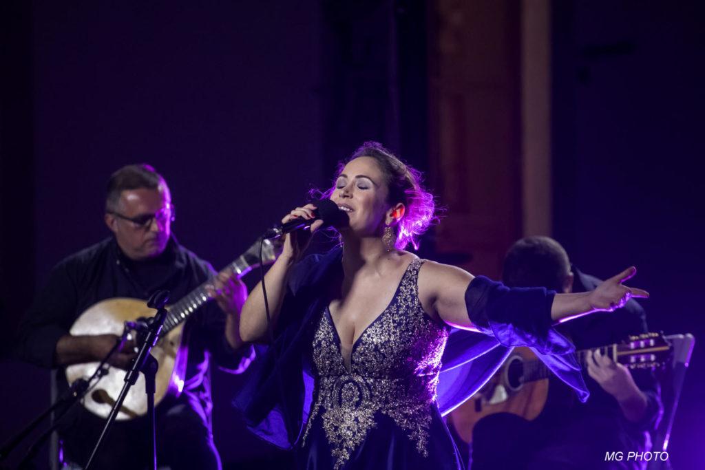 El concert de la cantant portuguesa Joana Amendoeira suposarà l'estrena d'un nou tema, O medo, que formarà part del nou àlbum que veurà la llum la propera tardor. © Nuno Agostinho.