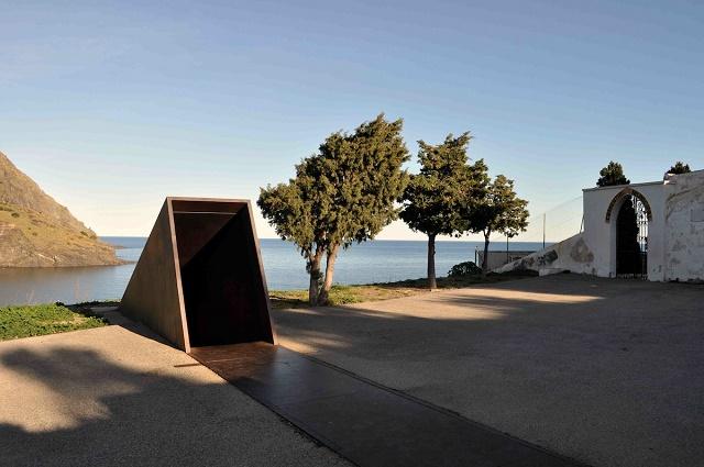 Memorial Passatges. A Walter Benjamin, de Dani Karavan, a Portbou, Foto: Turisme, Portbou