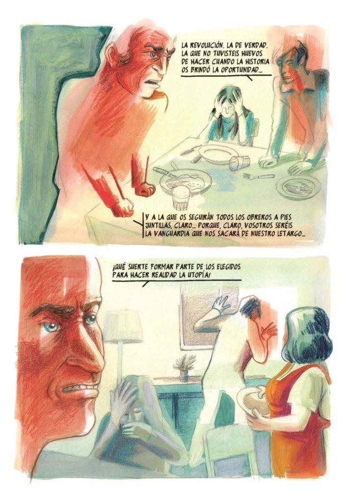 Pàgina de 'Del Trastévere al paraíso', de Felipe Hernández Cava i Antonia Santolaya (Reservoir Books).