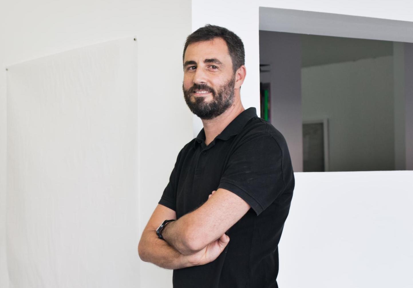 Àlex Nogueras, president d'Art Barcelona. © Rafael Arocha.