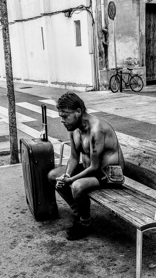 """Eduard Reboll, """"Una autopostal"""", Barcelona, 30 d'agost de 2020."""