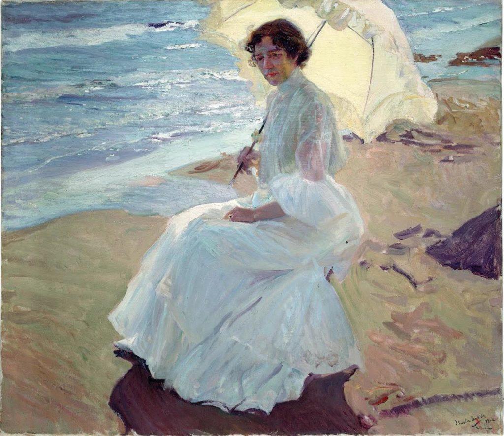 Clotilde en la playa - joaquin sorolla