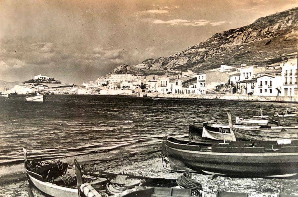 El Port de la Selva, 1961, postal enviada per Granero a Anton Granero