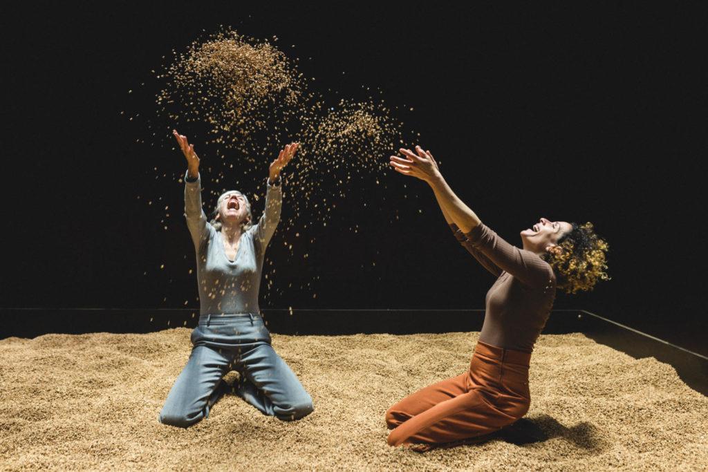 'La nostra parcel·la', de Lara Díez Quintanilla, va fer només un parell de funcions al Lliure. Foto: Sílvia Poch