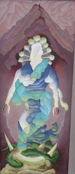 Ithell Colquhoun, Attributes of the Moon, del 1947 (Londres, Tate)