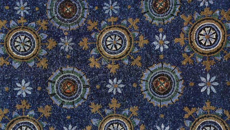 Mosaic de les voltes del Mausoleu de Gal·la Placídia a Ravenna (Itàlia)
