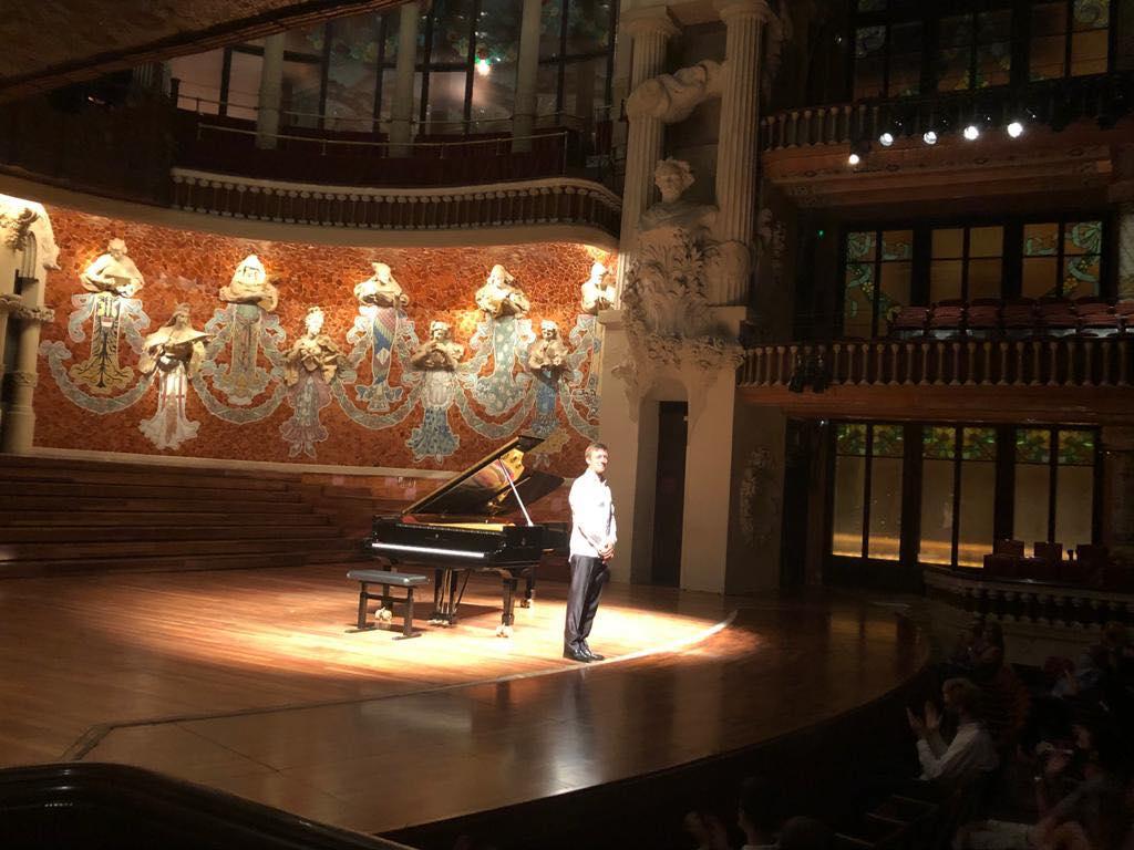 Enrique Bagaría. Palau de la Música Catalana.