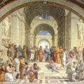 Escola d atenes Raffaello Sanzio da Urbino tempsarts didactica