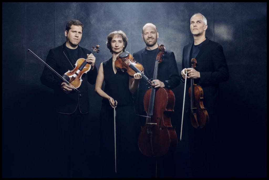 Quartet Gerhard, la formació que lidera i obre la I Biennal de Quartets de L'Auditori de Barcelona.