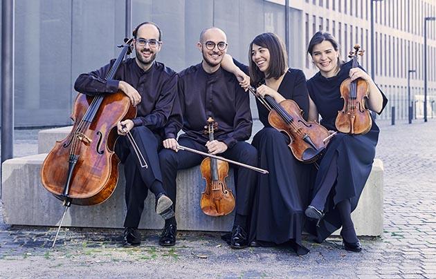 Cosmos Quartet, una de les formacions participants en la I Biennal de Quartets de Barcelona. ©Michal Novak