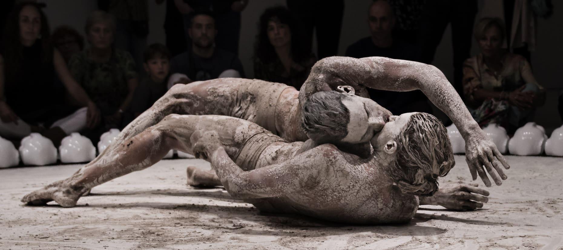 "Asun Noales i Sebastián Rowinsky dibuixen una complicitat màxima a ""Rito"". Foto: Germán Antón"