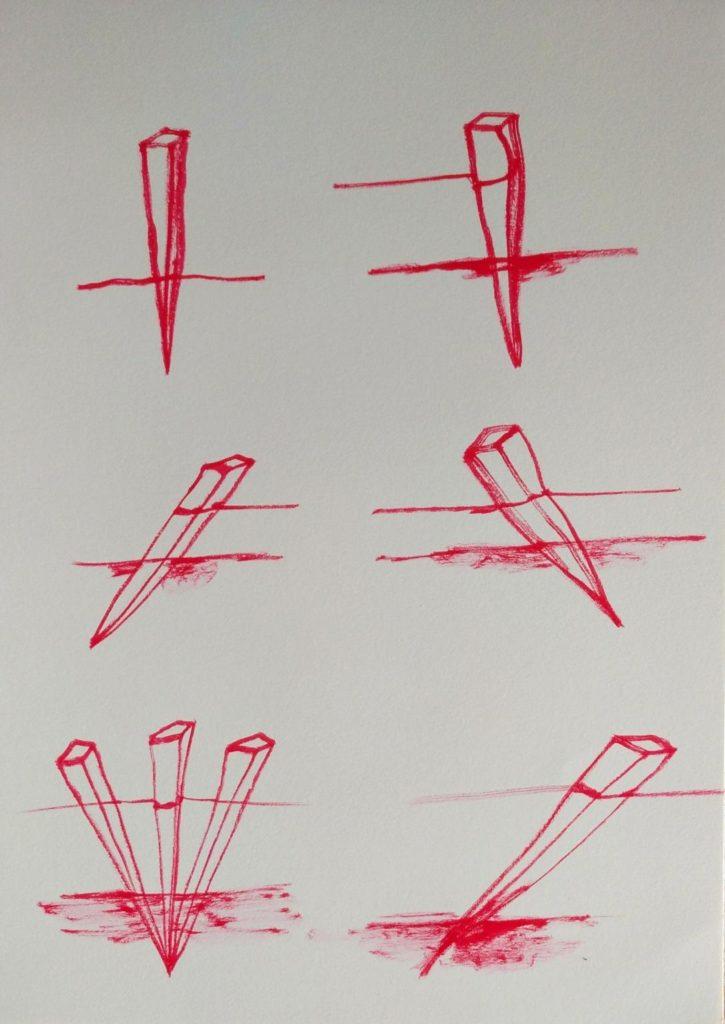 Dibuix de Tónia Coll per a la proclama Carrer de doble sentit, 2020