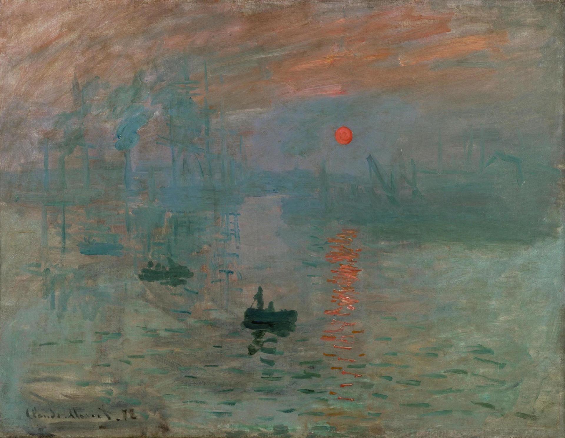 Impressio sol naixent de Claude Monet Temps arts