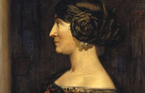 Un retrat aproximat de Marguerite Laborde, esposa d'Alexandre de Riquer en segones núpcies