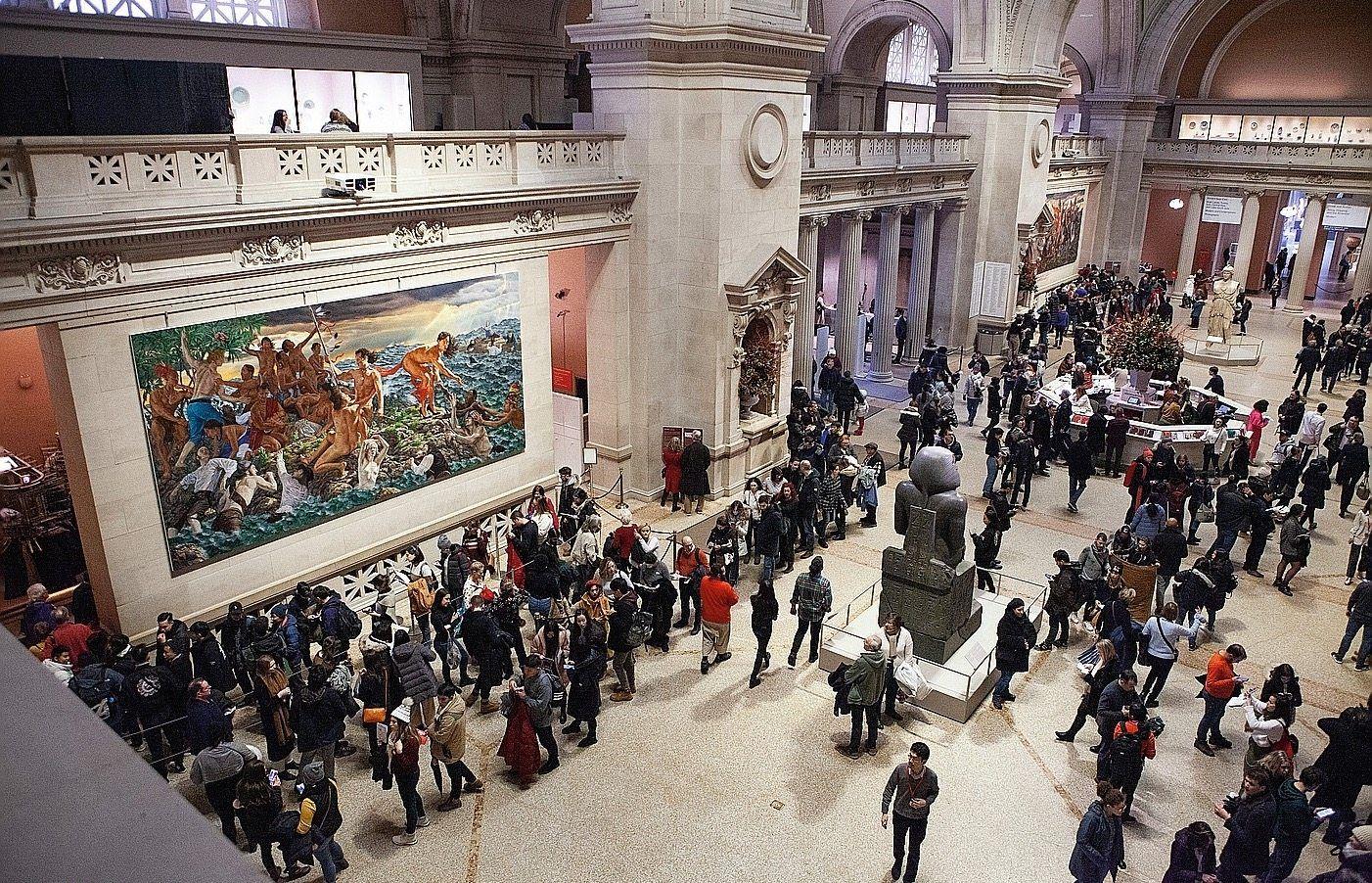 Imatge de sala del Metropolitan Museum de Nova York.