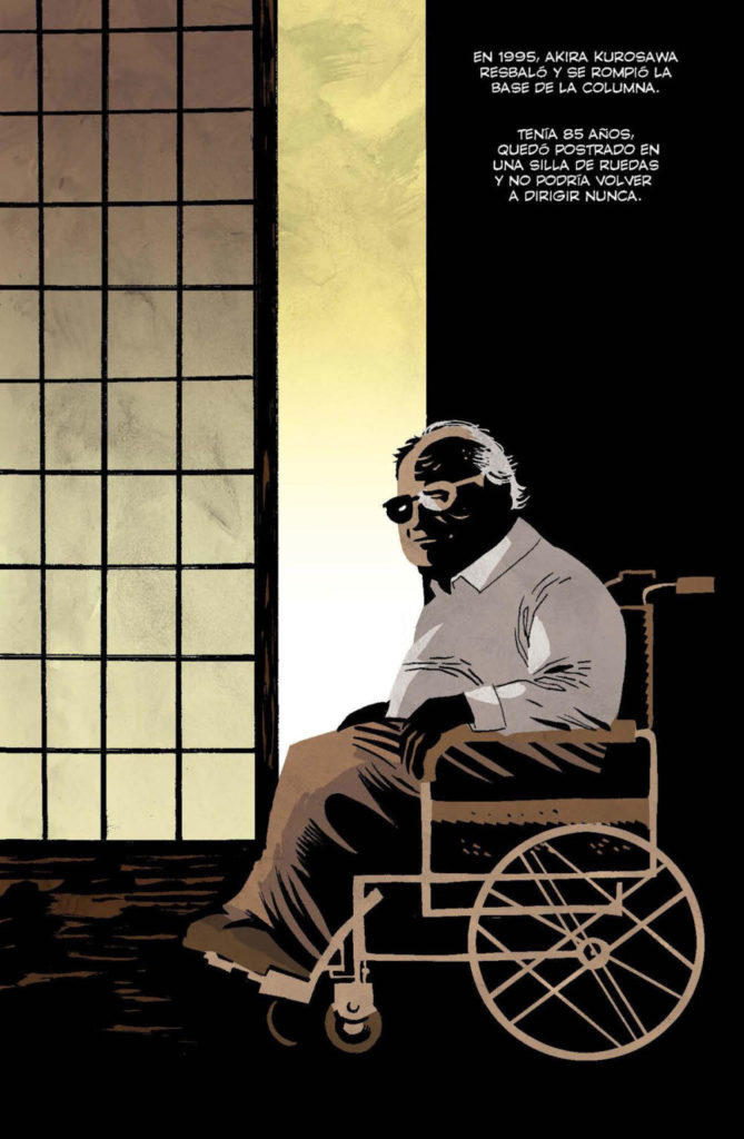 Pàgina de 'Kurosawa, el samurái caído', de Victor Santos