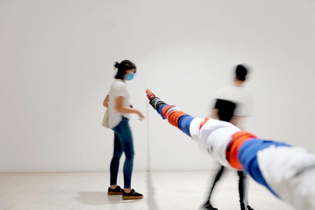 Fernando Prats. Sublevación, 2019 -2020. Fotografia cortesia de l'artista i de la Galeria Joan Prats